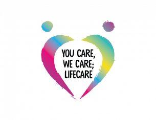 You care, we care, lifecare heart image - LifeCare Edinburgh