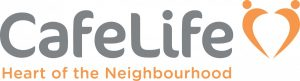 CafeLife Heart of the neighbourhood logo