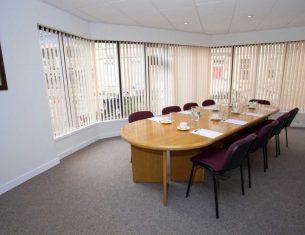 Boardroom for hire in Edinburgh at the LifeCare Centre, Stockbridge, Edinburgh